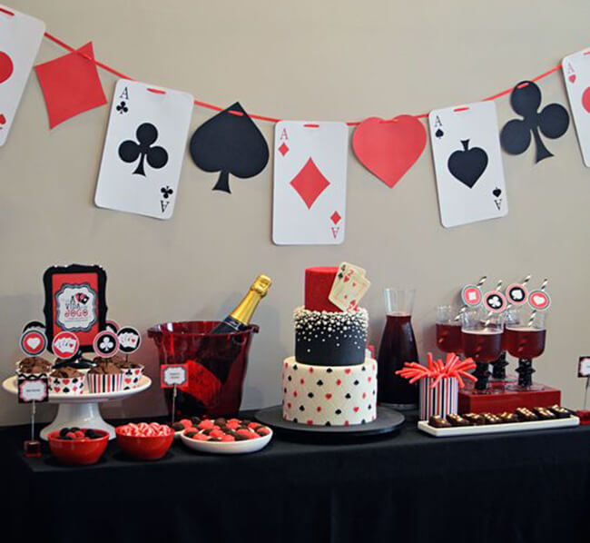 Casino Theme Party Decorations